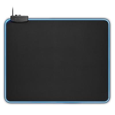 Sharkoon 1337 RGB XL Muismat - Zwart