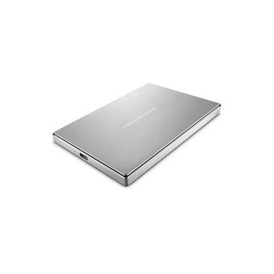 Lacie externe harde schijf: 2TB, USB 3.0, 5 Gb/s, 193 g - Zilver