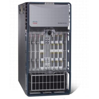 Cisco netwerkchassis: Nexus 7010 Bundle (Chassis, SUP1, 3x FAB1, 2x AC-6KW PSU), RF - Zwart