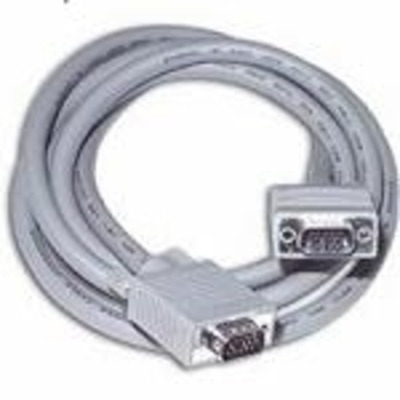 C2G 5m Monitor HD15 M/M cable VGA kabel  - Grijs