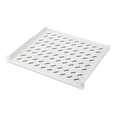 Digitus 1U fixed shelf for racks from 600 mm depth 44x482x399 mm, up to 15 kg, grey (RAL 7035) Rack toebehoren - .....