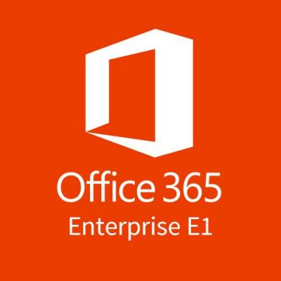 Microsoft Office 365 Enterprise E1 (Maandelijks) Software licentie