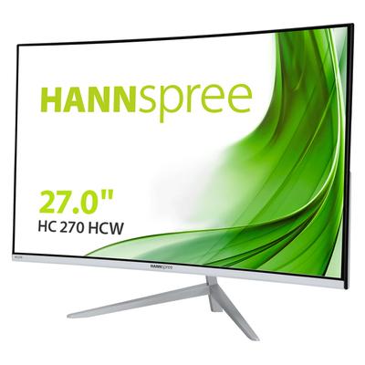 Hannspree HC 270 HCW Monitor - Zwart