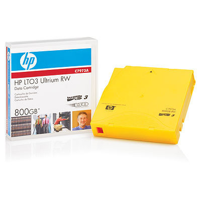 Hewlett Packard Enterprise LTO-3 Ultrium 800GB RFID Datatape - Geel