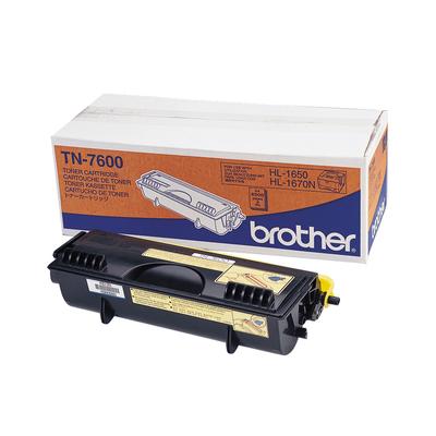 Brother TN7600 Toner - Zwart
