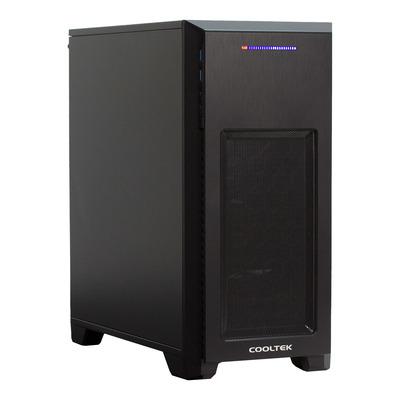 Cooltek MT-03 Behuizing - Zwart