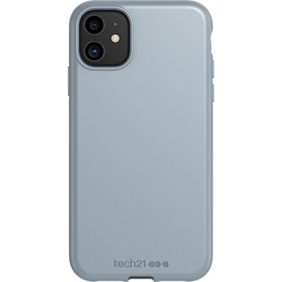 Antimicrobial Backcover iPhone 11 - Pewter - Grijs / Grey Mobile phone case