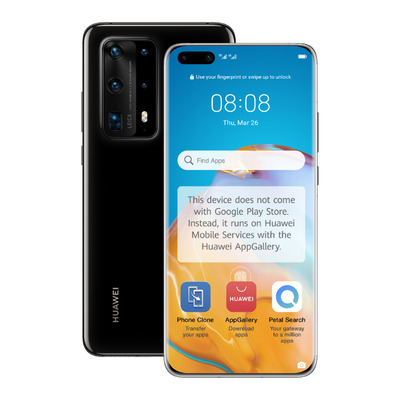 Huawei P40 Pro+ Smartphone - Zwart 512GB