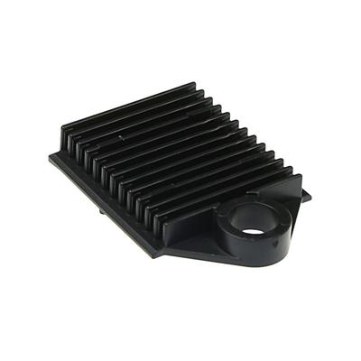 ACT ANT houder 12x lasbeschermers Patch panel accessoire - Zwart