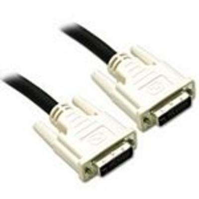 C2G 1m DVI-I M/M Dual Link Cable DVI kabel  - Zwart