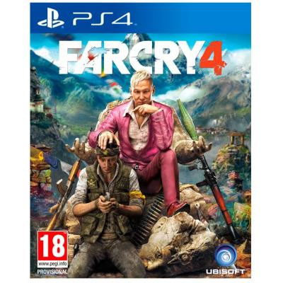 Ubisoft game: Far Cry 4, PS4