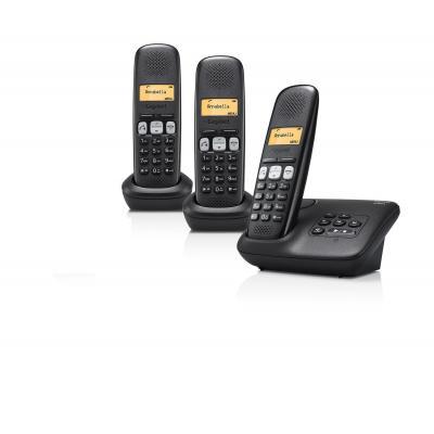 Gigaset dect telefoon: A250A Trio - Zwart