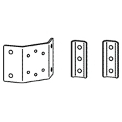 Ergotron T-Slot Bracket Kit Montagekit - Aluminium