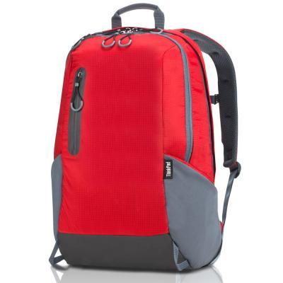 Lenovo rugzak: ThinkPad Active Backpack Large - Grijs, Rood