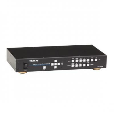 Black Box PC (XGA to WUXGA VESA), VGA, S-Video, HDMI, DVI-D Video converter - Zwart