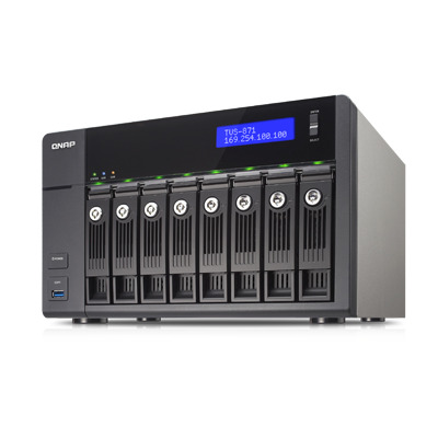 QNAP TVS-871-I3-4G NAS