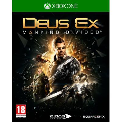Eidos interactive game: Deus Ex, Mankind Divided  Xbox One