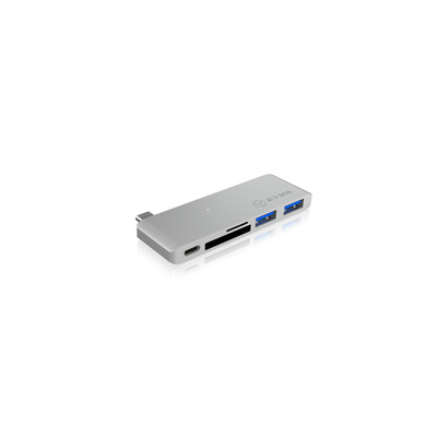 ICY BOX IB-DK4035-C Docking station - Zilver