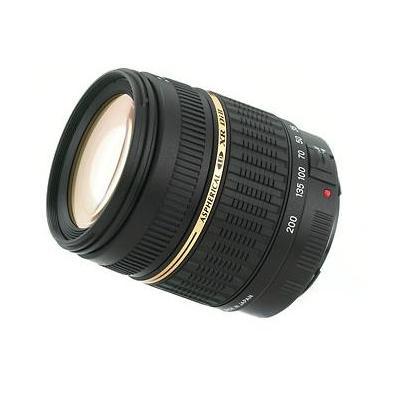Tamron camera lens: AF 18-200mm F/3.5-6.3 XR Di II LD - Zwart