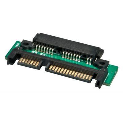 Lindy Micro SATA / SATA Adapter Kabel adapter - Zwart