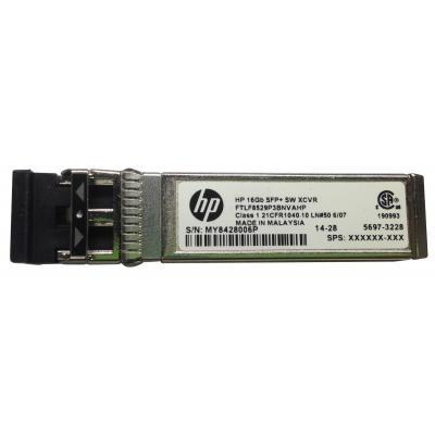 Hewlett Packard Enterprise 16Gb SFP+ Short Wave Transceiver 1 Pack Netwerk tranceiver module
