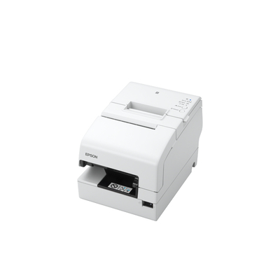 Epson TM-H6000V-213: Serial, MICR, White, No PSU Pos bonprinter - Wit