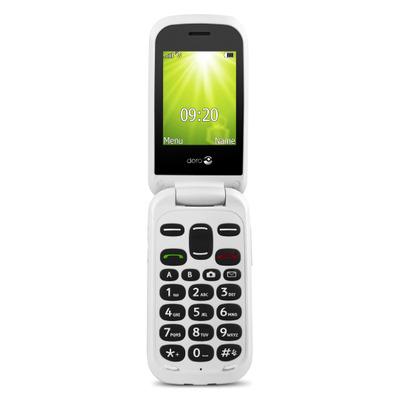 Doro 2404 - Alphanumeric keypad mobiele telefoon - Rood, Wit