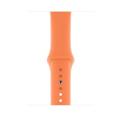 Apple 44mm Papaya Sport Band - S/M & M/L Horloge-band - Oranje