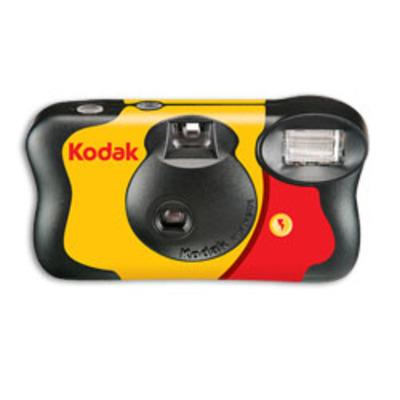 Kodak camera: FUN Flash Single Use Camera, 27+12 pic