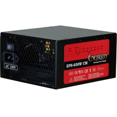 Inter-Tech Energon Power supply unit - Zwart