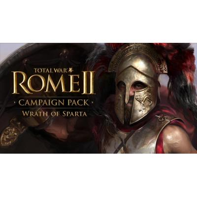 Sega : Total War: ROME II - Wrath of Sparta Campaign Pack