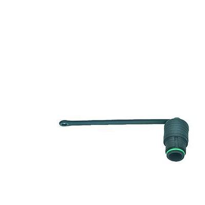 BINDER Protection cap for male panel mount connector Electrische connectordop - Zwart