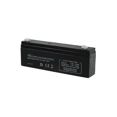 Hq batterij: Lead-Acid 12V 2Ah - Zwart