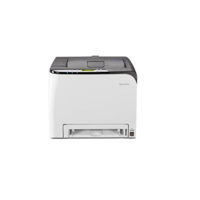 Ricoh laserprinter: A4, 2400 x 600 dpi, 20 ppm, 350 MHz, 128 MB, IEEE 802.11b/g/n, Ethernet, USB, 23.8 kg - Zwart, .....