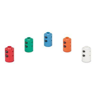 Extron kabelbeschermer: Cable Collar Kit - Blauw, Groen, Oranje, Rood, Wit