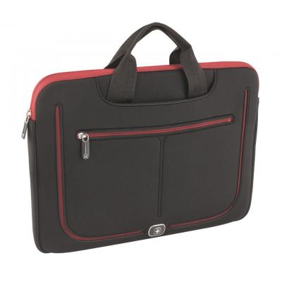 Wenger/swissgear laptoptas: Resolution 13 - Zwart, Rood