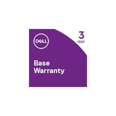 Dell garantie: 1Y Next Business Day – 3Y Next Business Day