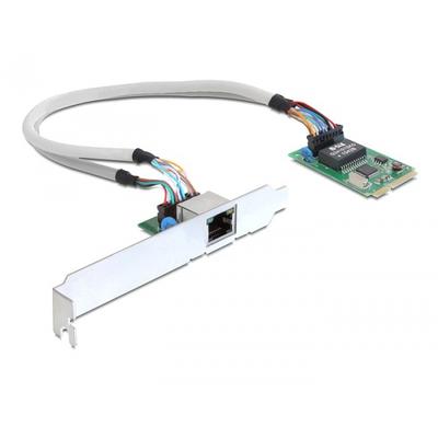DeLOCK MiniPCIe I/O PCIe full size 1 x Gigabit Lan Netwerkkaart