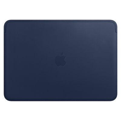 Apple Leather Sleeve for 13-inch MacBook Pro – Midnight Blue Laptoptas
