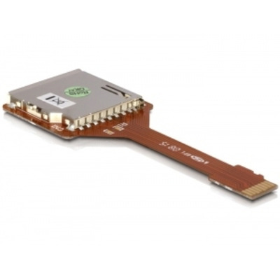 Delock interfaceadapter: Adapter Micro SD/Trans Flash > SD Card - Bruin