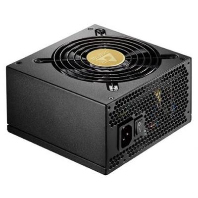 Chieftec 650W Power Supply, ATX 12V 2.3, PS II, Active PFC (0,9), 120mm silent fan, 80Plus Gold, UVP / OVP / .....