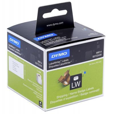 Dymo etiket: LabelWriter adresetiketten - Zwart, Wit