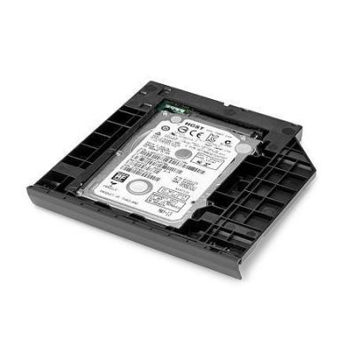 Hp notebook reserve-onderdeel: Hard drive upgrade bay - Zwart