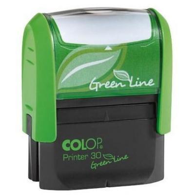 Colop stempel: 30 Green Line