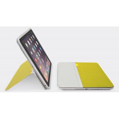 Logitech tablet case: AnyAngle Cover Geel  voor iPad Air 2