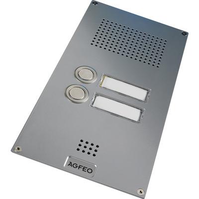 Agfeo deurintercom installatie: Premium TFE 2 - Zilver