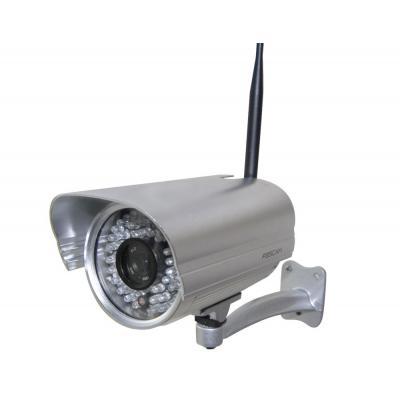 Foscam beveiligingscamera: FI9805W - WiFi HD Outdoor Camera met Nachtzicht - Zilver