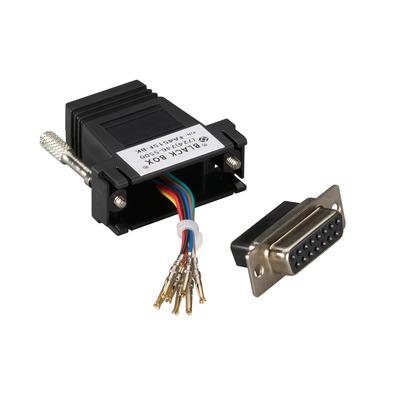 Black Box FA4515F-BK kabeladapters/verloopstukjes
