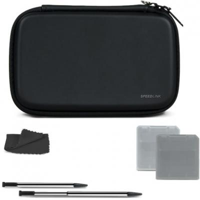 Speedlink hardware: Speedlink, 7-IN-1 Starter Kit (Black)  New 3DS