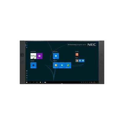 NEC InfinityBoard 2.0 Touchscreen monitor - Zwart